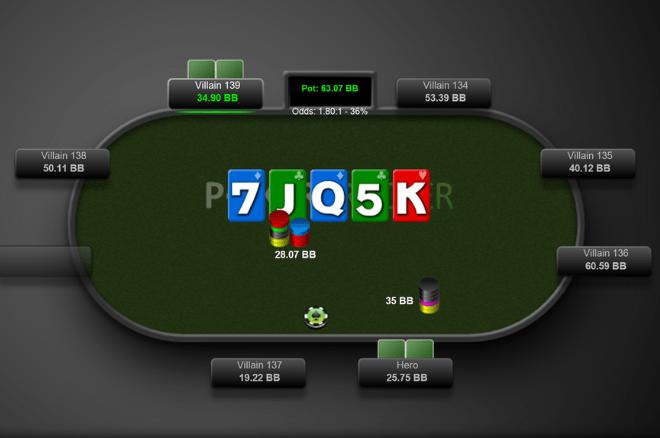 Gareth James Poker Triple Barrel