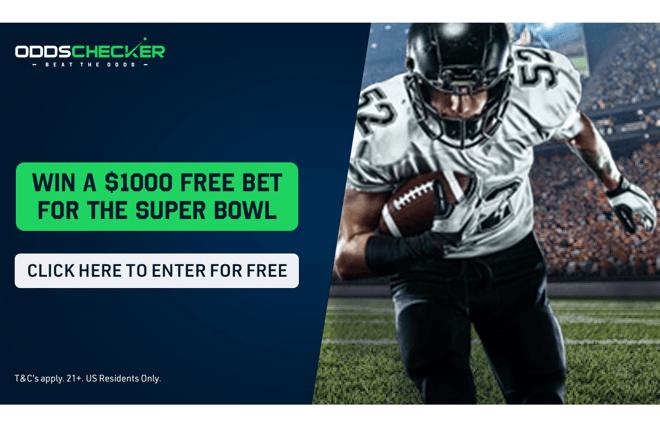 OddsChecker memberikan Taruhan Gratis sebesar $ 1000 untuk digunakan di Super Bowl 2021!