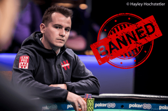 Another high-profile cheating scandal, with former Winamax Team Pro Ivan Deyra banned for multi-accounting