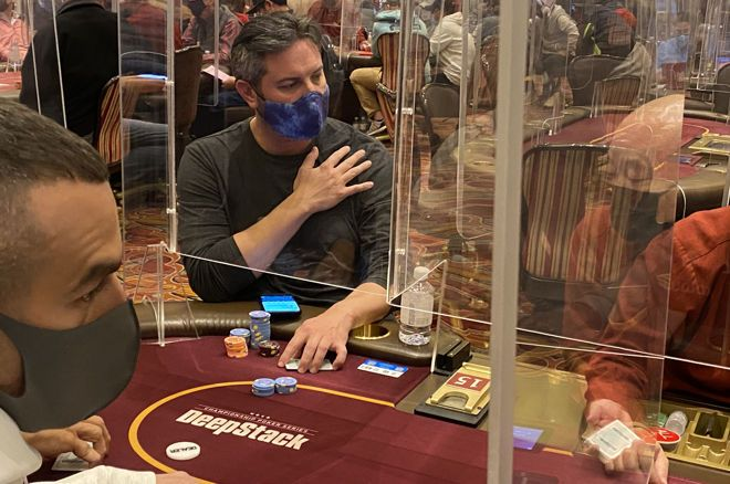 Will plexiglass stay a normal part of live poker?