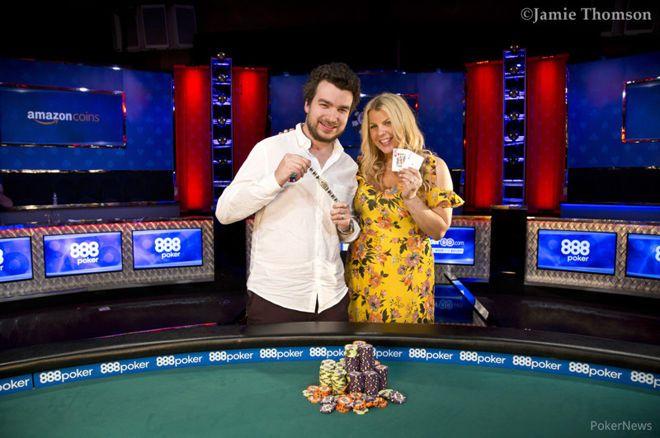Chris Moorman and Katie Lindsay