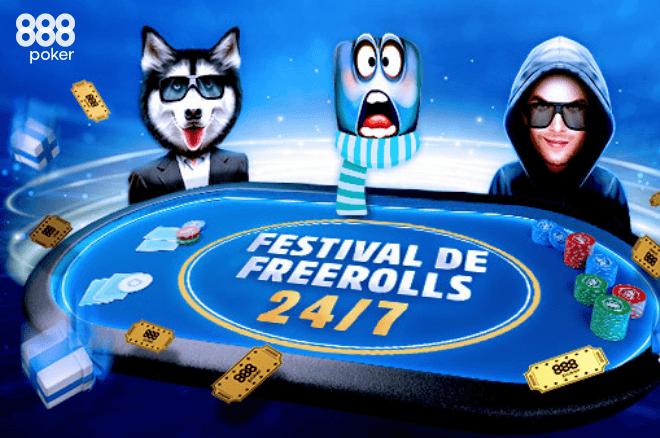 Frestival de Freerolls 888poker