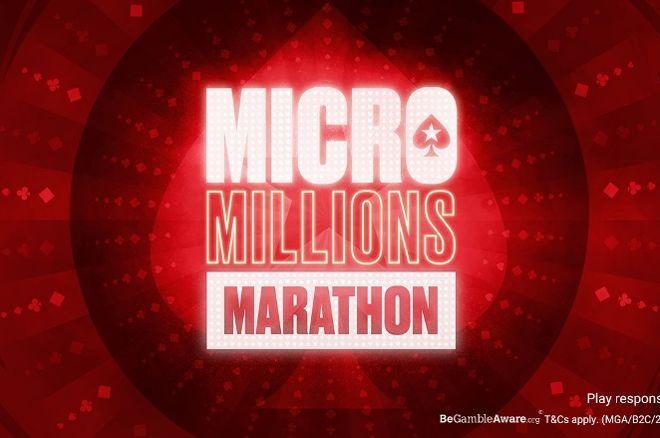 PokerStars Micro Millions Marathon 2021