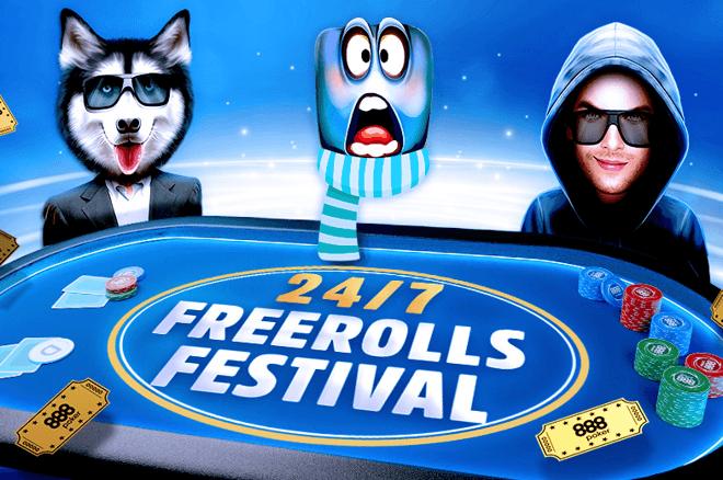 888poker 24/7 Freeroll Festival