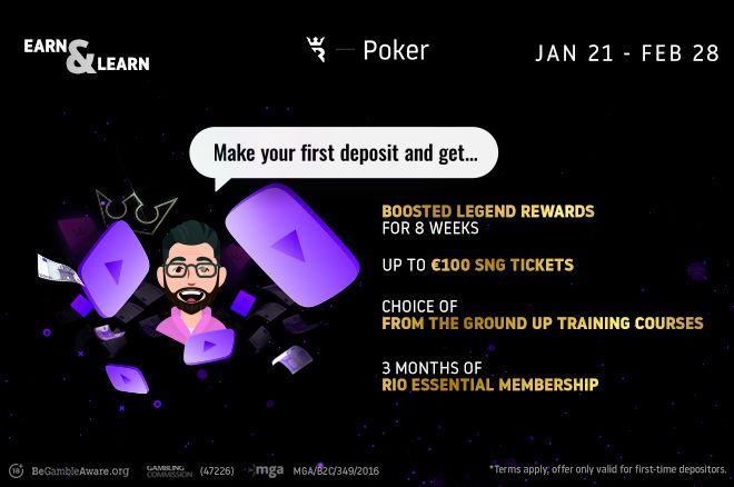 Run It Once Poker Earn & Learn