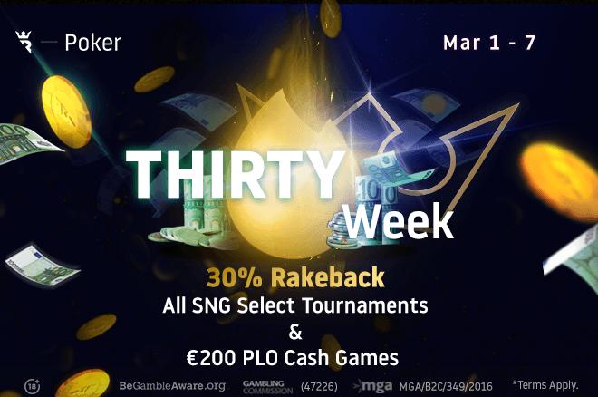 Thirty Week at Run It Once Poker