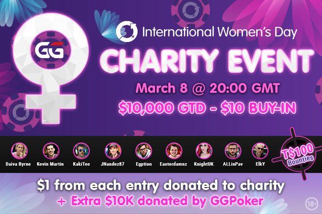 Acara Amal Hari Perempuan Internasional di GGPoker
