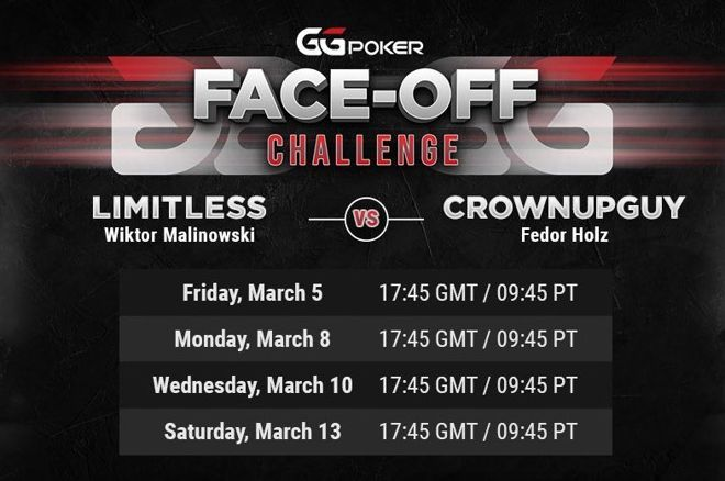 Fedor Holz will face Wiktor Malinowski heads up.