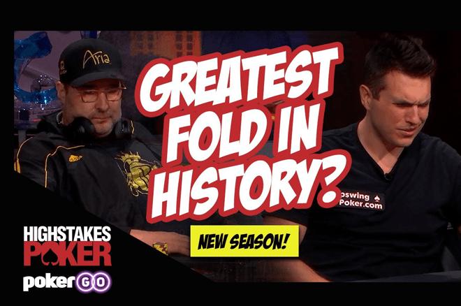 Doug Polk dá fold absurdo contra Phil Hellmuth no High Stakes Poker