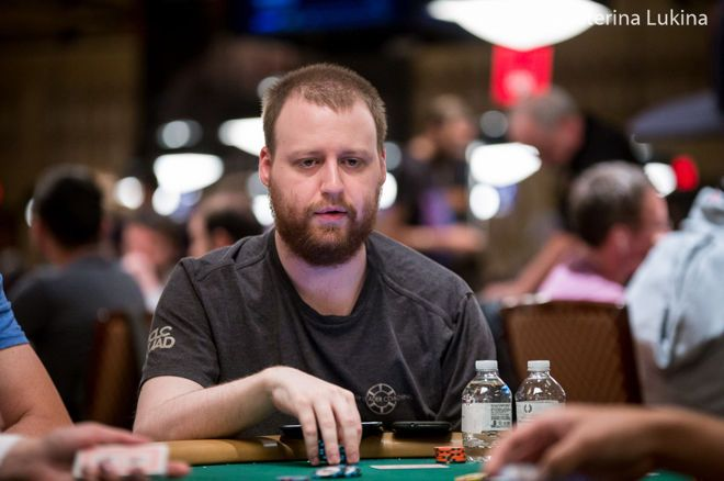 Jared Jaffee got heated at the Venetian.