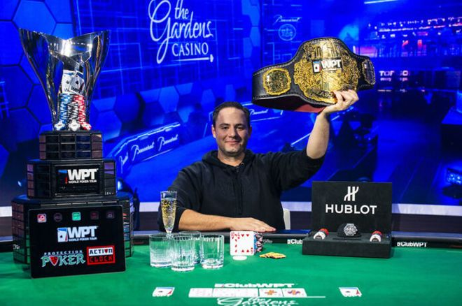 Markus Gonsalves became a WPT champion.