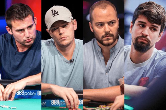 Darren Elias, Barry Hutter, Sean Winter & Sergi Reixach