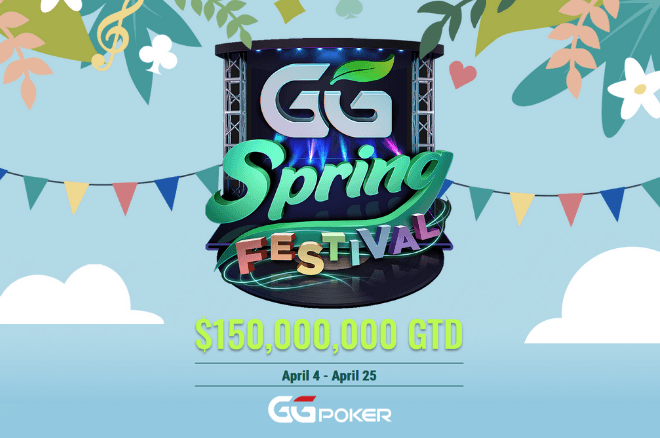 GG Spring Festival com US$ 150M GTD na GGPoker