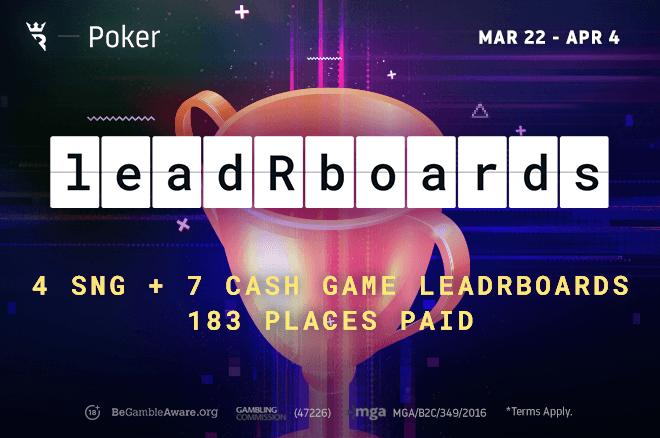 Jalankan Sekali Poker leadRboards
