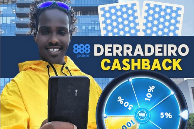 """Promoção """"Derradeiro Cashback"""" da 888poker Portugal"""