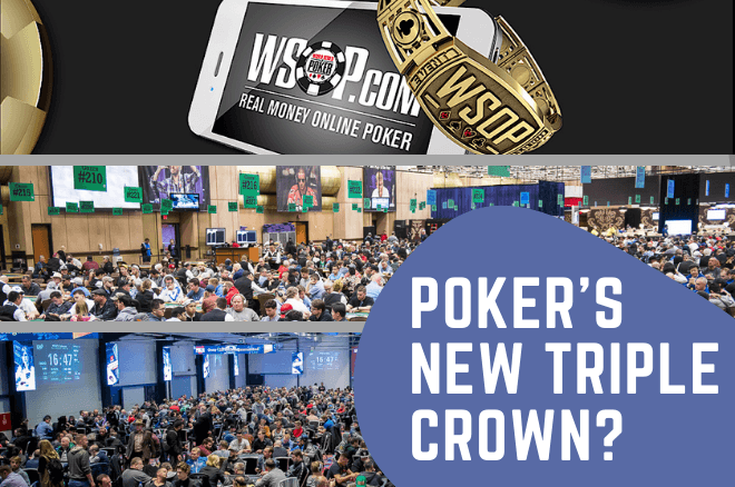 Triple Crown Baru WSOP Poker