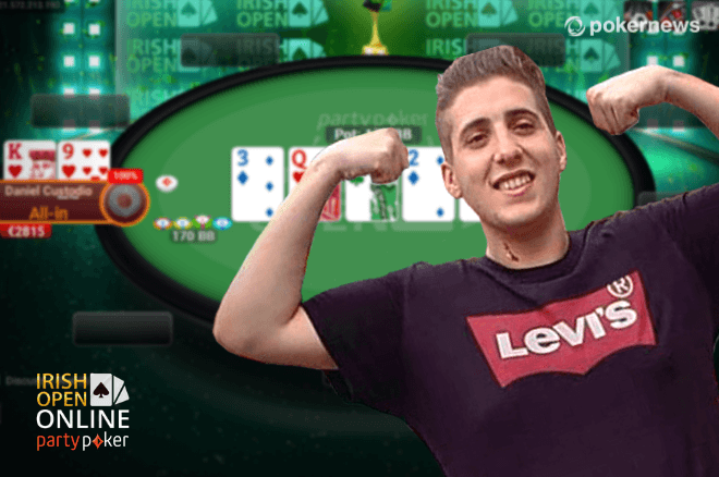 Daniel Custódio campeão no Irish Open Online
