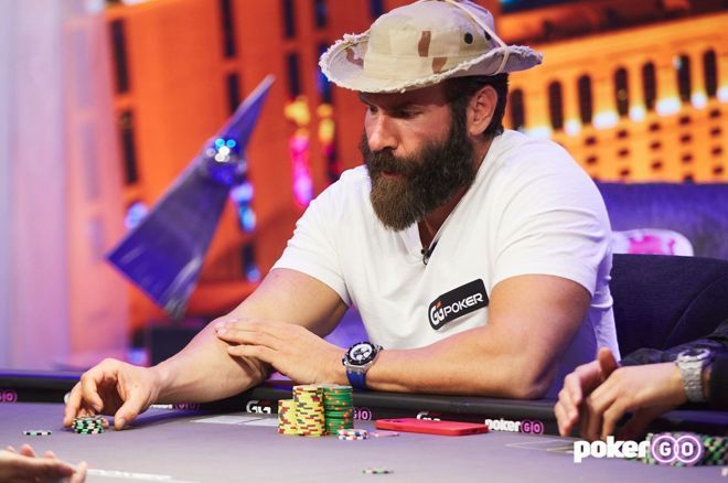 "Bilzerian picked up some big hands on ""Poker After Dark."""