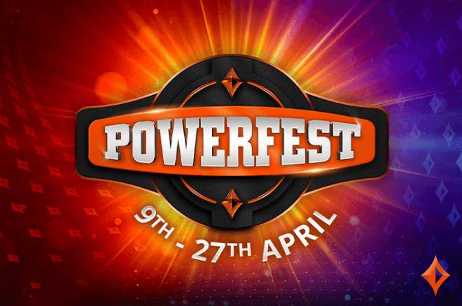 POWERFEST retorna ao partypoker entre 9 e 27 de abril