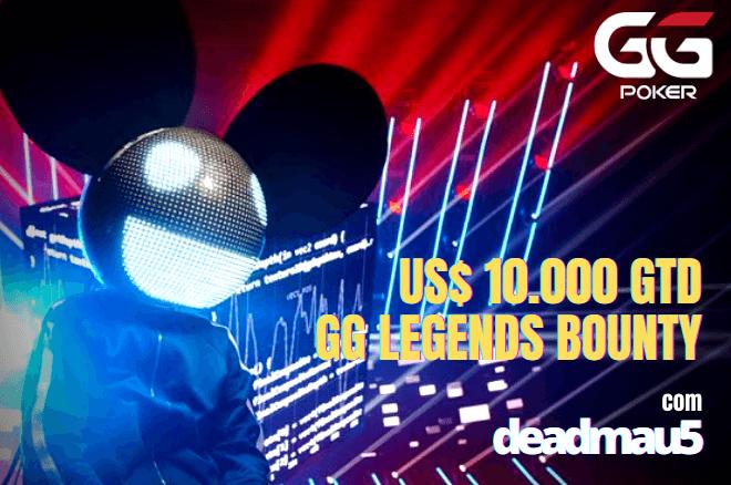 Enfrente deadmau5 no torneio GG Legends Bounty - este sábado!