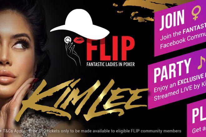 Kim Lee GG Flip Poker Tournament