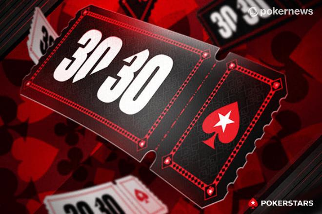 Torneios 30/30 PKO na PokerStars.pt