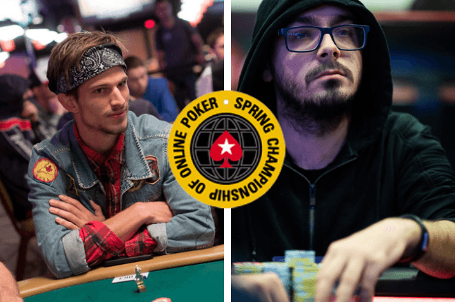 Mario Mosboeck and Daniel Borlan PokerStars SCOOP 2021