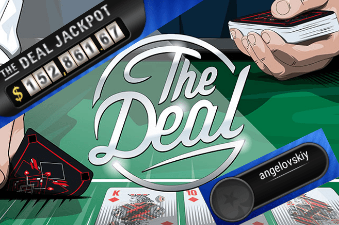 PokerStars angelovskiy The Deal Jackpot