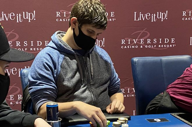 Nick Pupillo had a tough decision at the final table.