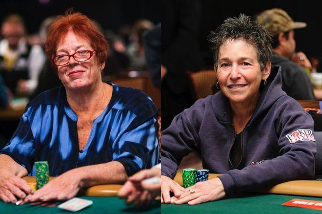 Linda Johnson and Jan Fisher