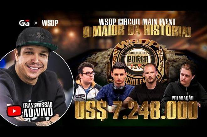Mesa final WSOP Circuit Online Main Event