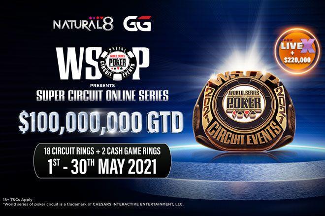 WSOP Super Circuit Online Series 2021 on Natural8