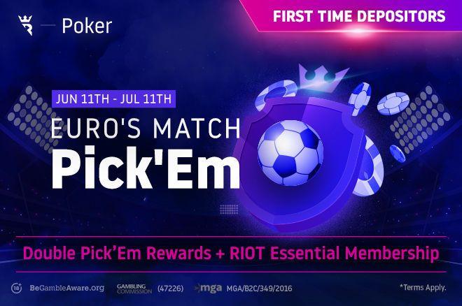 Run It Once Euro's Match Pick'em