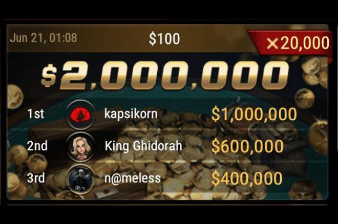 GGPoker Spin & Gold $2,000,000 Jackpot