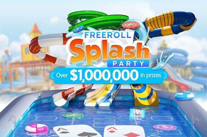888poker Freeroll Splash Party