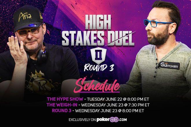 Phil Hellmuth vs. Daniel Negreanu in High Stakes Duel II