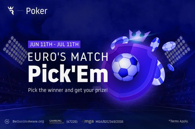 Run It Once Euro's Match Pick'Em promotion