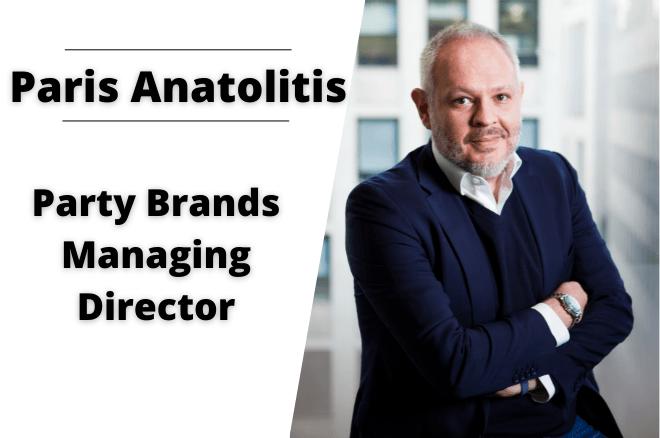 Paris Anatolitis Party Brands Managing Director