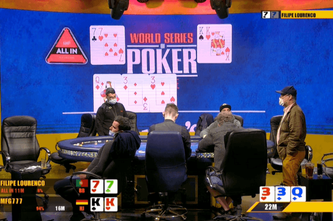 Filipe Lourenço 9º classificado no Italian Poker Sport Main Event