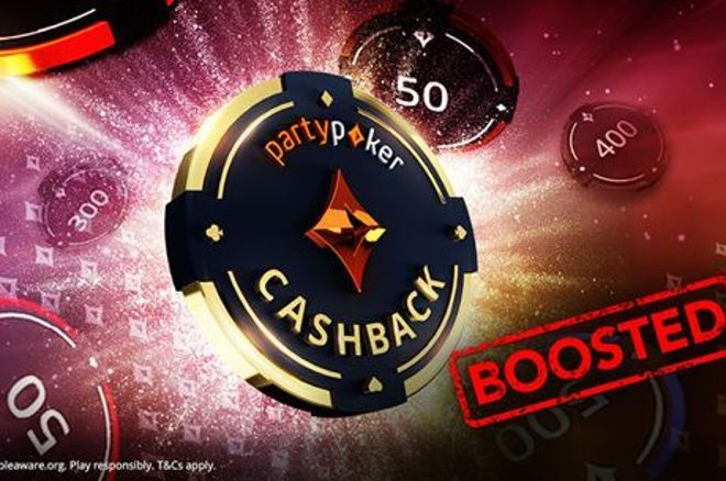 partypoker boosted cashback