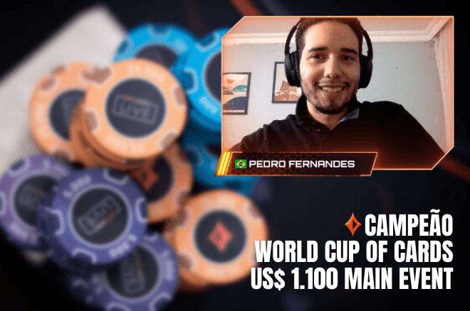 Pedro Fernandes campeão do WCC Main Event do partypoker