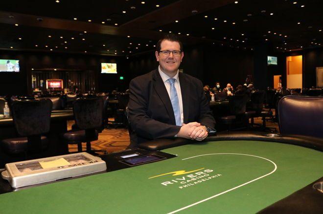 Rivers Philadelphia Manager of Poker Operations Jim Moore