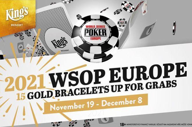 WSOP Europe Returns to King's Resort