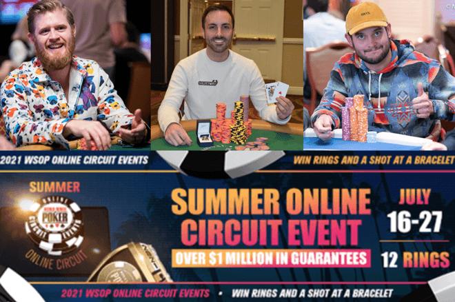 WSOP.com Summer Online Circuit Winners