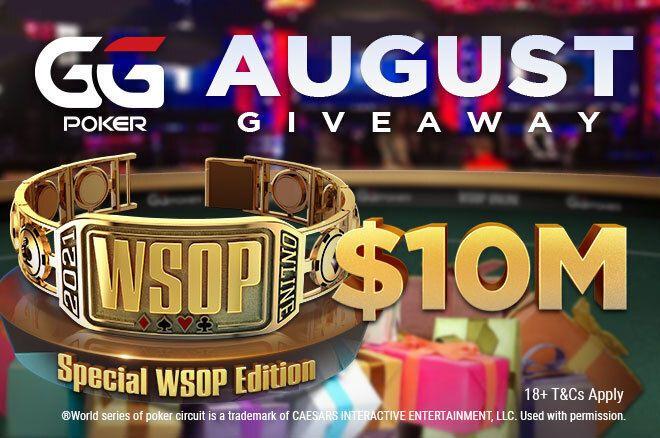 Hadiah WSOP GGPoker $10 juta