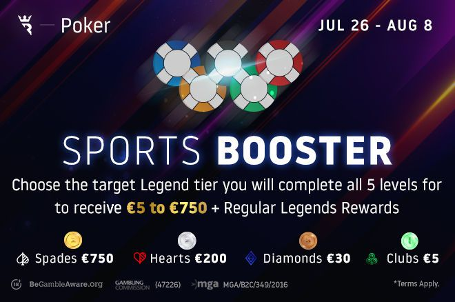 Run It Once Poker Sports Booster