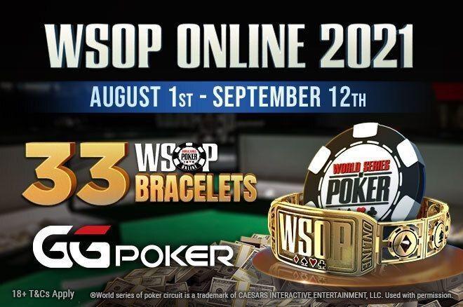 WSOP Online at GGPoker