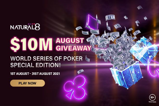 Natural8 Agustus WSOP Online