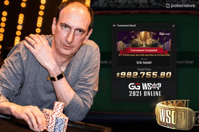 Erik Seidel GGPoker WSOP Online 2021