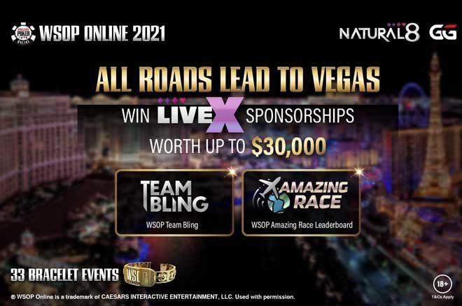 2021 Natural8 WSOP Online
